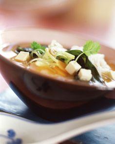 Polévka miso se skleněnými nudlemi a tofu, Foto: isifa.com