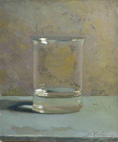 Glass 2013, oil on panel, 30x25