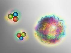 Teilchen aus reiner Kernkraft