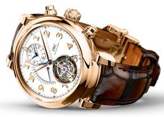 IWC+Da+Vinci+Tourbillon+Retrograde+Chronograph