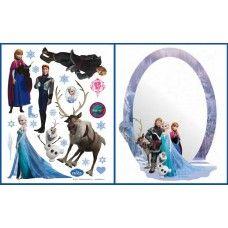 Frozen falmatrica + tükör 2 db-os szett Frozen, Elsa, Home Decor, Decoration Home, Room Decor, Home Interior Design, Home Decoration, Interior Design