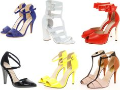 Current Obsession - Ankle Strap Heels