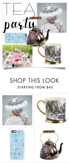 """""""Tea party"""" by veronika-andrianova ❤ liked on Polyvore featuring Casetify and MacKenzie-Childs"""