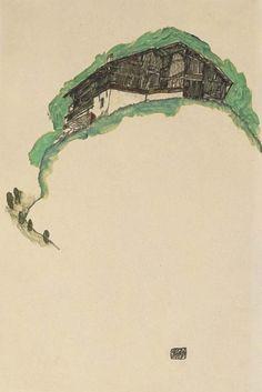 """Egon Schiele, uma descoberta através de Mário Vargas Llosa em """"Os cadernos de don rigoberto"""". Ler esse livro (encontrado ao acaso na casa de praia) abriu um novo capítulo na minha vida."""