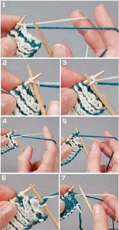 Learn It: Twigg Stitch. Knitting Daily. Learn a new, reversible knitting stitch!
