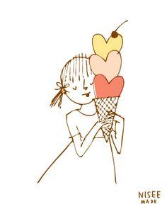 amo el helado.