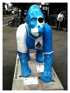 """IRENE!"" - Bristol Rovers' gorilla, Gloucester Rd Bristol Rovers Fc, Sir Alex Ferguson, Ticket Holders, Association Football, Season Ticket, Great Team, Gloucester, Irene, Art History"