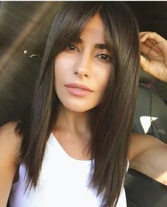 Long Bangs Hairstyles 33 Long Layered Hair Style With Bangs  Pinterest  Long Hairstyle