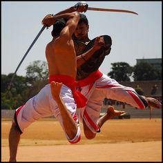 Kalaripayattu- Ancient Indian martial art style, originating in ~ 11th century AD.
