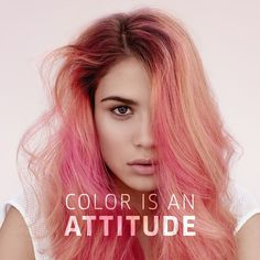 Color is an attitude. And our #ColorFreshCREATE range is brimming with both #WellaLove . . . #ColorCreators #WellaHair #WellaStyle #HairGoals #haircolorinspo #haircoloring #hairinspiration #hotd #hairoftheday #pastelpink #pinkhairdontcare