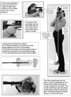 olympic air rifle best stance - Google Search