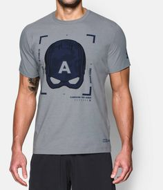 Men's Under Armour® Alter Ego Captain America Tactical T-Shirt