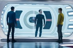 Star Trek Into Darkness one minute new trailer On the Web