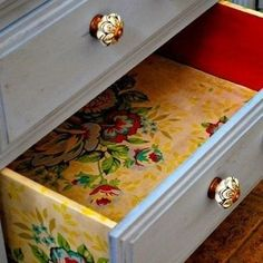 So many different ways to perk up dressers! I could have pinned at least half of them! | 99 Clever Ways To Transform A Boring Dresser