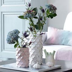 Customiser un vase à l'aide de pâte autodurcissante - DIY vase