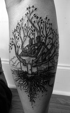 david hale tattoo