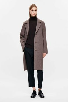 COS | Raw-cut wool coat