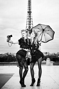 #CamillaChristensen and #EmmaSternNielsen by #EllenVonUnwerth for #VsMagazine