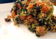 Healthy quinoa roerbak -