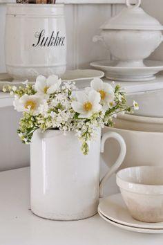 VIBEKE DESIGN: Villt, vakkert og hvitt !