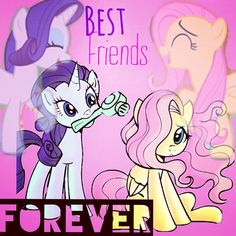 I am crying inside because Rarity stole my BFF. :(
