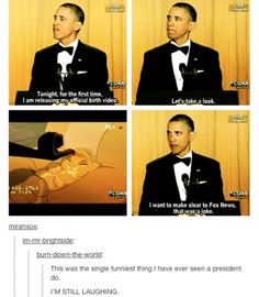 Obama. Funny tumblr post. That was awesome he showed lion king