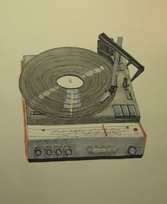 Record player by walterh, via Flickr