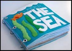 Under The Sea - Quiet Book | YouCanMakeThis.com