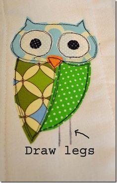 adorable owl embroidery design tutorial