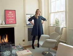 Anya Hindmarch - conservative creds, but classy style   Vanity Fair article by Kate Reardon