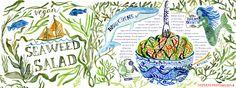 Seaweed Salad by Mitzie Testani
