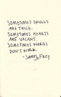 skulls. hearts. words.