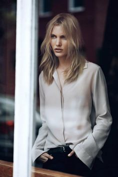 Emily Baker for Filippa K Fall Winter 2012.13