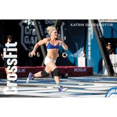 Reebok - Katrin Davidsdottir Champ Poster