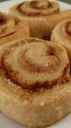 Leftover Pie Crust Pinwheel Cookies ~ What do you do with that extra dough? I certainly hope you don't throw it away!! These little cookie-like pinwheels are so good