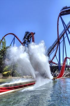 Busch Gardens, Florida-- this is the best rollercoaster I have ever been on! Can't wait to go back:)
