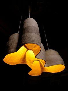 Luminaire du designer Doug Johnsto.