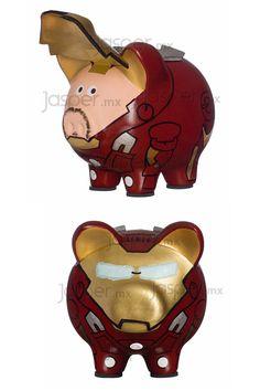 Alcancía cerdito Iron Man $359