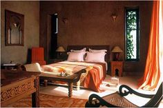 Awesome Spanish Interior Design Bedroom With Mediterranean Interior Design Bedroom Tuscan Style Bedrooms, Tuscan Bedroom, Earthy Bedroom, Moroccan Bedroom, Style Toscan, Mediterranean Bedroom, Mediterranean Design, Spanish Style Decor, Spanish Interior