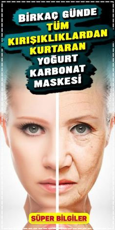 Kırışıklık gideren Yoğurt ve Karbonat Maskesi ile lekesiz bir cilt sahibi . Would you like to have a spotless skin with Yogurt and Carbonate Mask that removes wrinkles? Our skin can get worse Beauty Care, Diy Beauty, Beauty Hacks, Homemade Skin Care, Homemade Beauty, Anti Ride, Les Rides, Skin Mask, Facial Cleansers