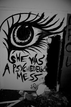 Wednesday street art is every nightmare you've. Psychedelic Art, Grunge, Youre My Person, My Demons, You Draw, Steam Punk, Badass, Cyberpunk, Illustrations