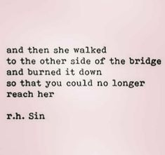 Yes, burn down the bridge to the past hurts, NEVER let it try to hurt you again. It is in the past and never was to be in your future!!