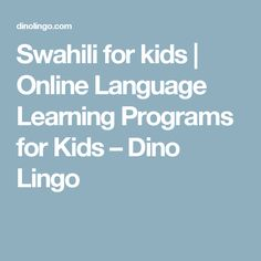 11 best Learn Kiswahili! images on Pinterest | Learn a new language ...