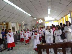 Hoy con gozo y alegría iniciamos el #TriduoPascual celebrando la celebración de la #InstituciónDeLaEucaristia, #AnoDeLaVidaConsagrada.