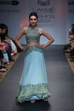 Karishma Kapoor for http://ArpitaMehta.in/ @ Lakme Fashion Week #LFW 2014