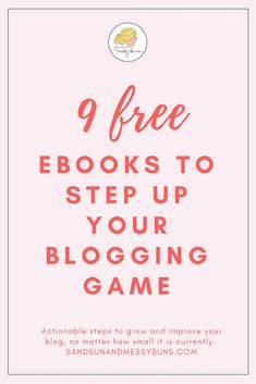 These awesome, free resources for bloggers are chock full of tips & tricks to help you grow your blog and monetize the audience you already have -- no matter how small or how new your blog is currently! #bloggingtips #printables #workfromhome #freebies