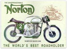 norton manx 1 ad