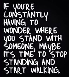 Where You Stand Quote