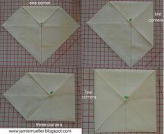 SunFlower Seeds: Cathedral Windows Basics Tutorial