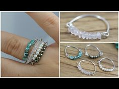 Easy Jewelry Tutorial : Double Heart Ring Wire Wrapped - YouTube